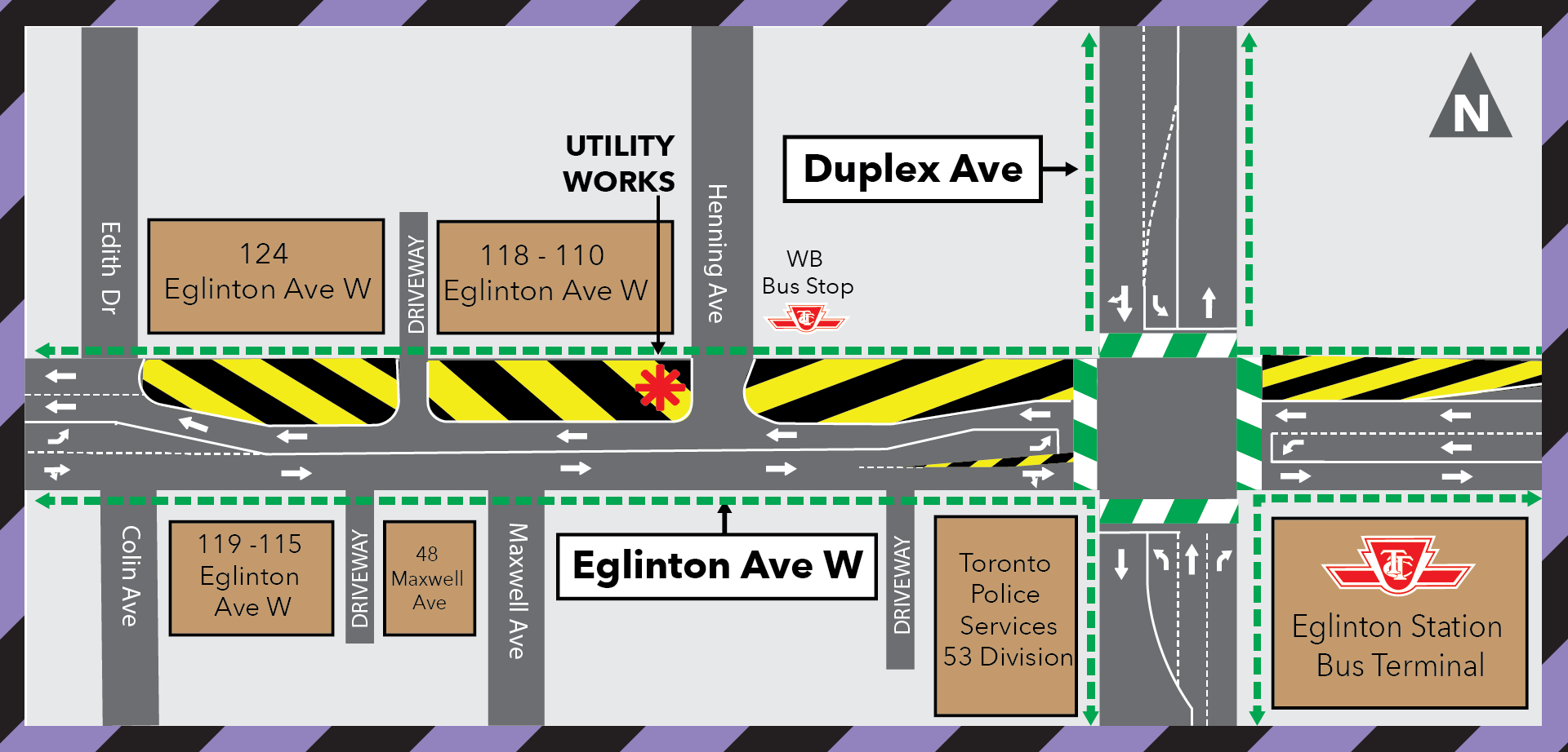 Overnight Water Shut-Off Henning & Eglinton Ave - Sept 2