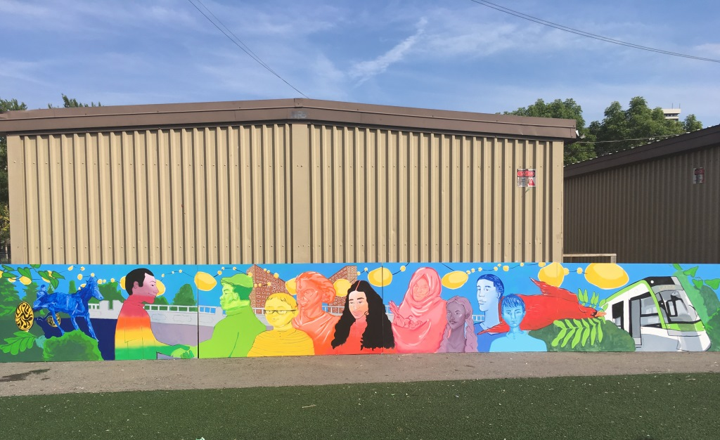Thorncliffe Park Laird Station Mural