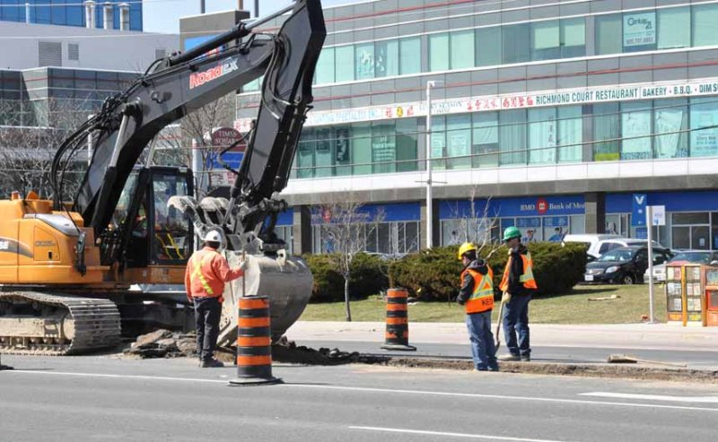 Median Removal on York Region viva Project