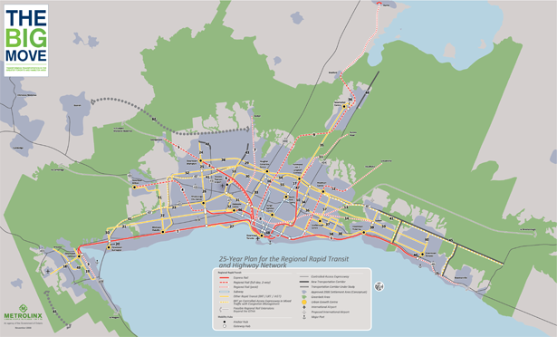 Image of 25 Year Plan for the Regional Rapid Transit and Highway Network