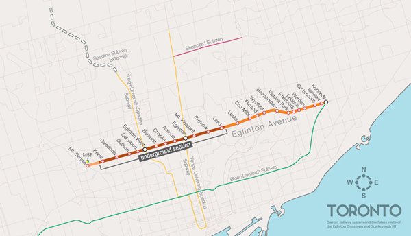 Crosstown Route Map