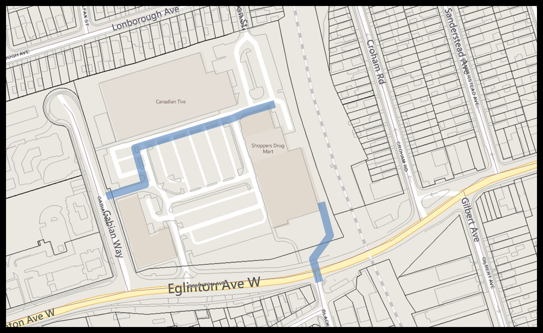 Map - Enbridge work Caledonia July 2015